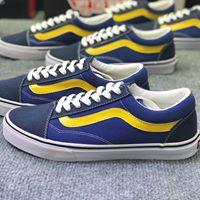 sỉ giày vans màu xanh