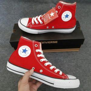 Sỉ giày converse đỏ cổ cao