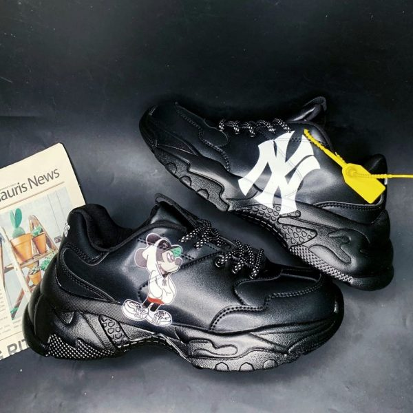 Giày Sneaker MLB Big Ball Chunky Mickey New York Yankees đen Auth.