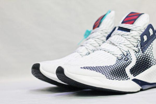 giày Allpha Bounce trắng xanh