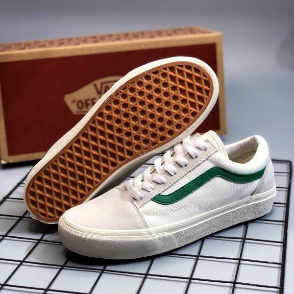sỉ giày vans da rep vệt xanh 2