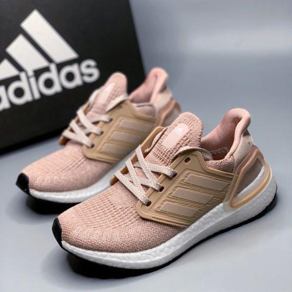 giày thể thhao Ultra Boost hồng đất