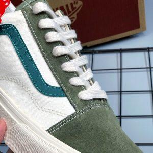 sỉ giày vans da rep vệt xanh