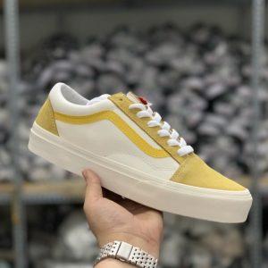 sỉ giày vans da rep phối vàng 1